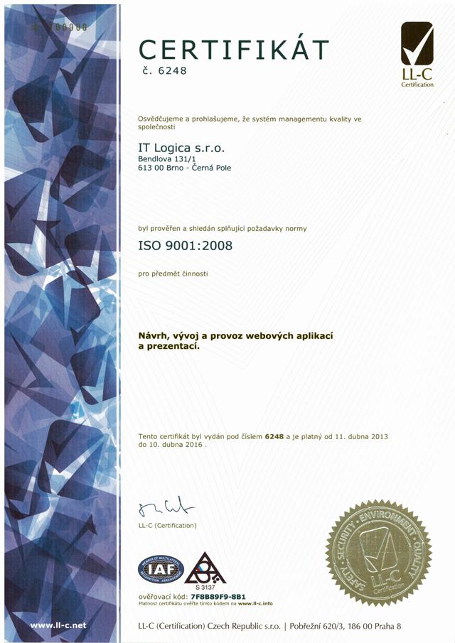 ČSN EN ISO 9001:2008