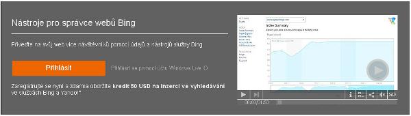 Bing nástroj pro správce webů. Co přináší pro jiné vyhledávače? #SEO #Bing