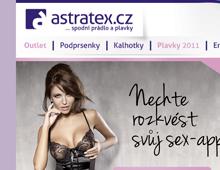 Reklamní newsletter pro Astratex.cz