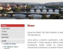 Emailingová služba pro Baker Tilly Czech Republic
