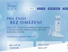 Prezentace zdravotních produktů Blue Cap