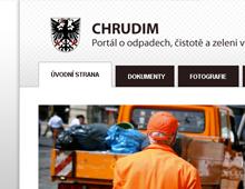 Reference webové prezentace Chrudim