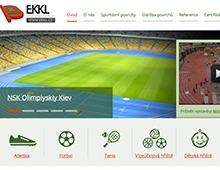 Prezentace sportovních povrchů EKKL a.s.