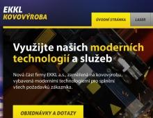 Prezentace kovovýroby EKKL a.s.