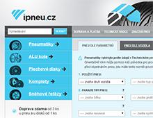 Internetový obchod s pneumatikami a disky ipneu.cz