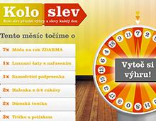Internetová aplikace Kolo slev