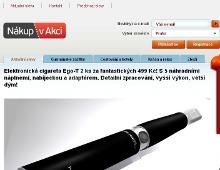 Emailingová služba pro Nákup v akci.cz