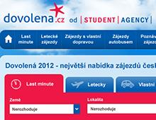 Tendr na redesign portálu Dovolena.cz