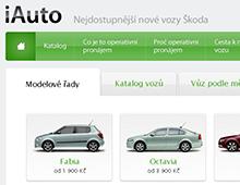 Internetová prezentace iAuto