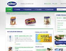Korporátní web a produktový katalog společnosti VITAR