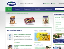 Reference webové prezentace Vitar