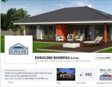 Správa facebook profilu pro Euroline.cz